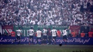Legia Warszawa, radość po bramce