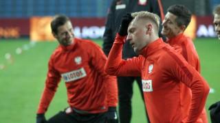 Glik Krychowiak Lewandowski