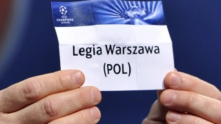 NYON, SWITZERLAND - JUNE 24:  The name Legia Warszawa is seen during the UEFA Champions League Q2 qualifying round draw at the UEFA headquarters on June 24, 2013 in Nyon, Switzerland.  (Photo by Harold Cunningham/Getty Images)