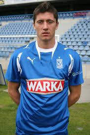 Lewandowski w barwach Lecha(fot. Lech Poznań)