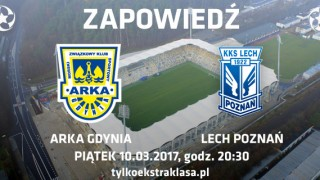 Arka Gdynia - Lech Poznań