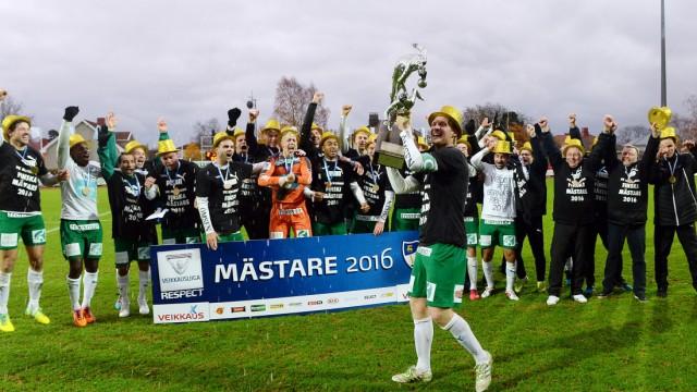 20161023, Mariehamn. Veikkausliigan ottelu IFK Mariehamn vs Ilves. IFK Mariehamn voitti Veikkausliigan mestaruuden. All Over Press